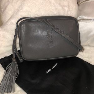 SAINT LAURENT Lou camera bag in smooth leather